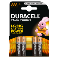 Pilas Alcalinas Duracell Plus Power AAA