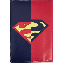 "FUNDA ROTACION 360 SUPERMAN POLIPIEL GIRATORIA COVER CASE PARA TABLET 7"" UNIVERSAL"