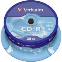 Verbatim CD-R Extra Protection 700 MB 25 pieza(s)