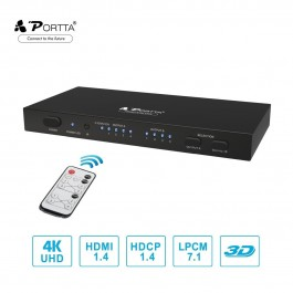 Portta HDMI 4x2 switch