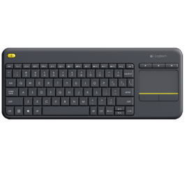 Teclado Inalambrico Logitech Touch Keyboard k400 Plus